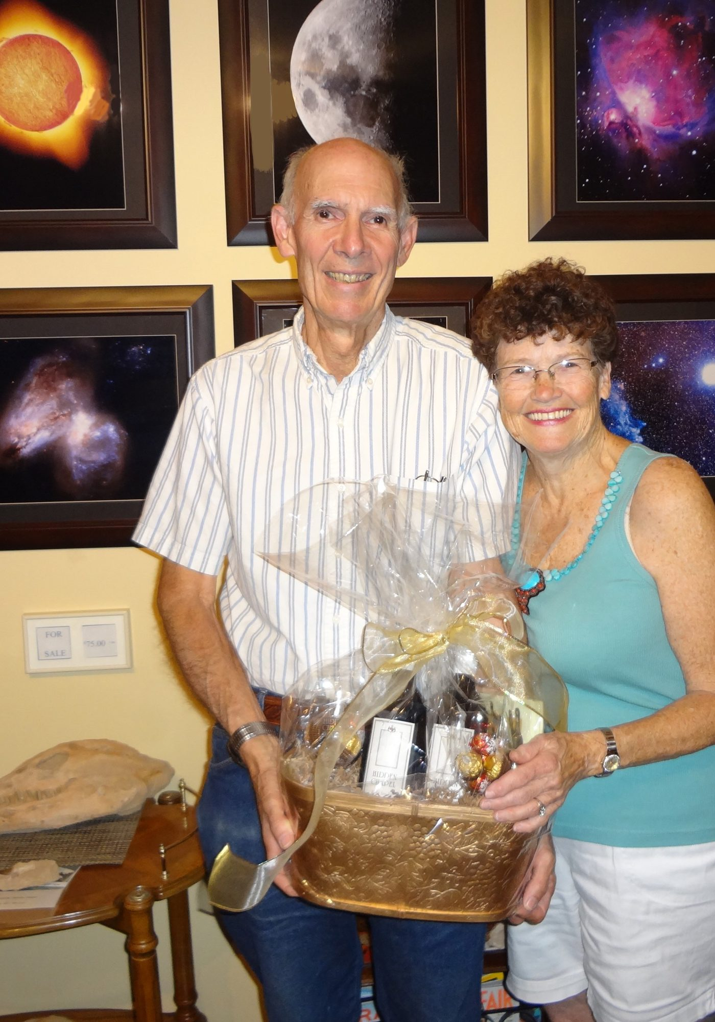 Jack & Alice with Gift Basket